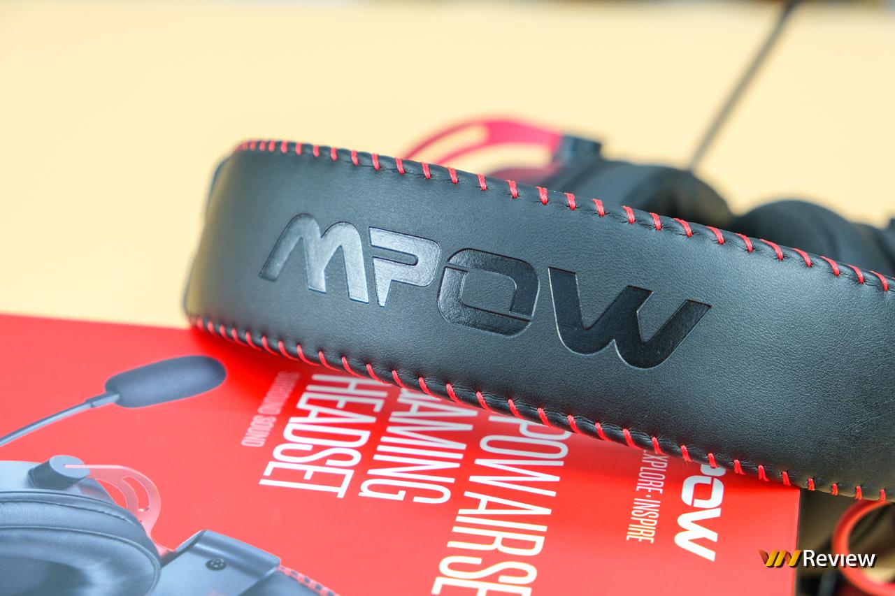 """Đánh giá Mpow Air SE: Dáng hình """"ông lớn"""" tai nghe gaming phổ thông - VnReview 2020 6"""