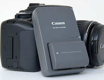Pin sạc Canon