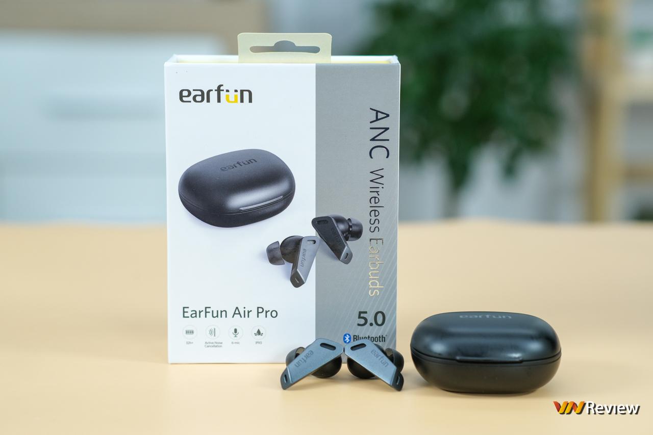 Tai nghe true wireless earfun air pro thông số sản phẩm