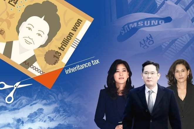 Cách những người thừa kế Samsung thanh toán một trong những khoản thuế cao nhất thế giới