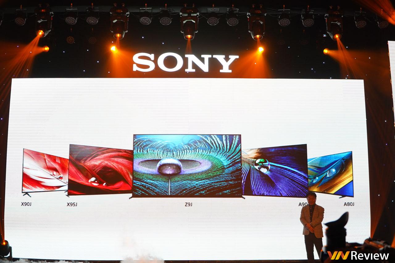 Sony ra mắt loạt TV BRAVIA XR với bộ xử lý trí tuệ nhận thức Cognitive Processor tại Việt Nam, giá từ 26,4 triệu đồng