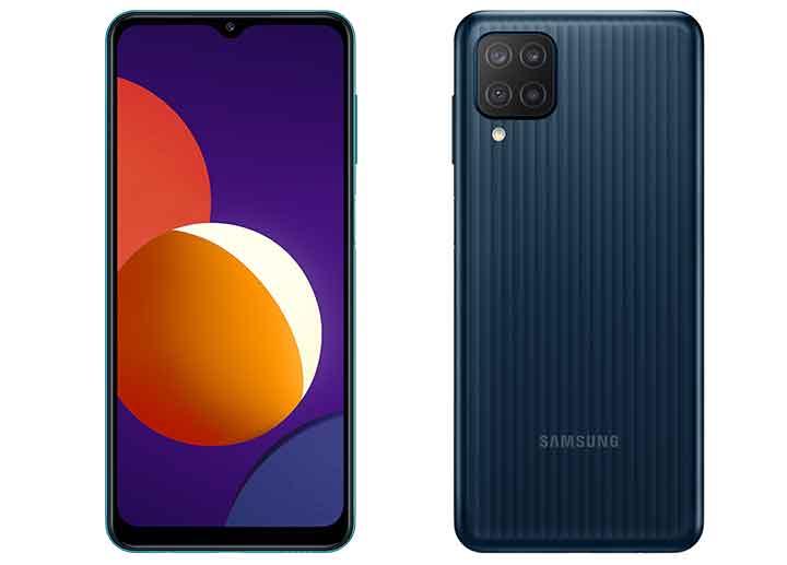 Samsung ra mắt Galaxy M12: smartphone giá rẻ pin 5.000 mAh, màn 90Hz