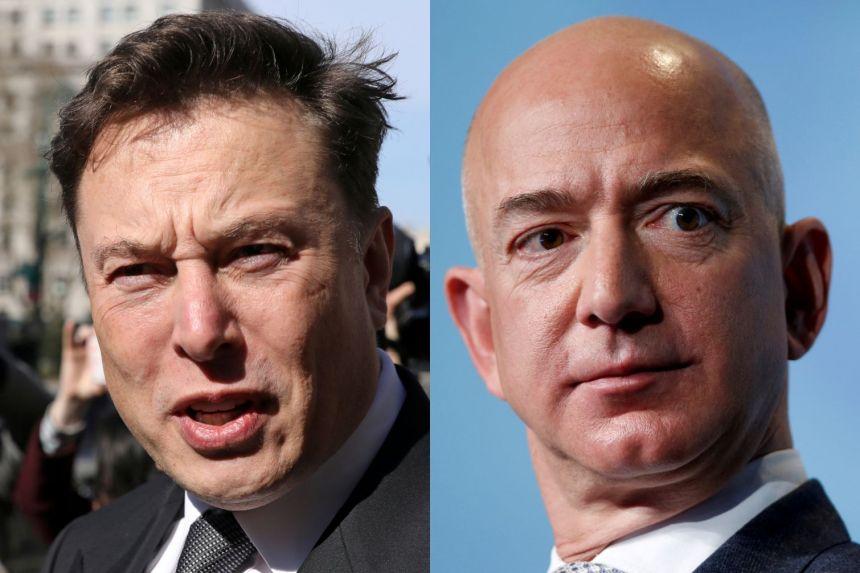 Elon Musk chế nhạo Jeff Bezos không giành được hợp đồng đưa con người trở lại mặt trăng