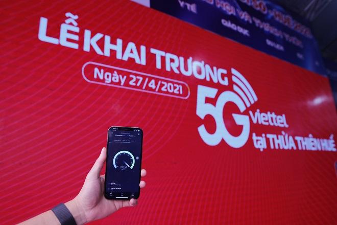 Viettel khai trương mạng 5G tại Thừa Thiên Huế, cung cấp 5G trên các thiết bị iPhone