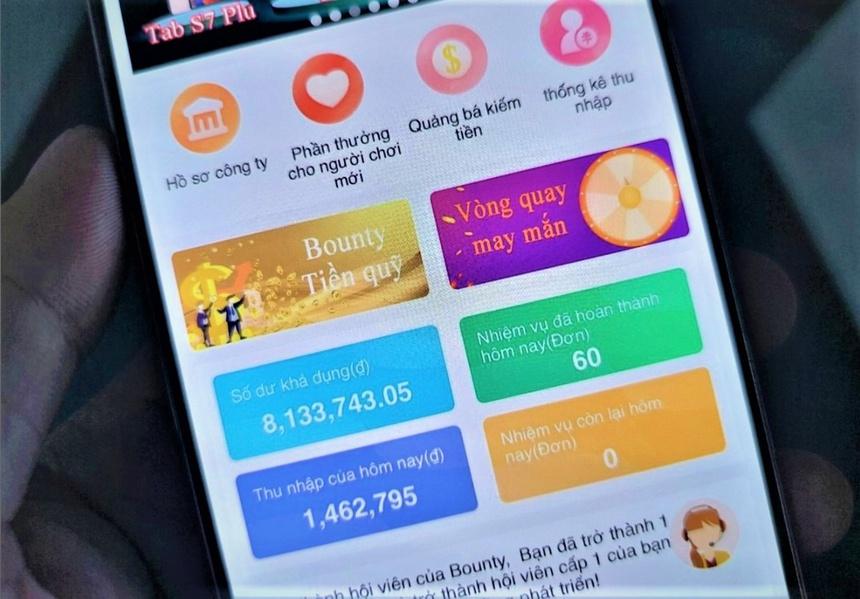 Chơi app đa cấp: Hãy trách chính lòng tham của mình!