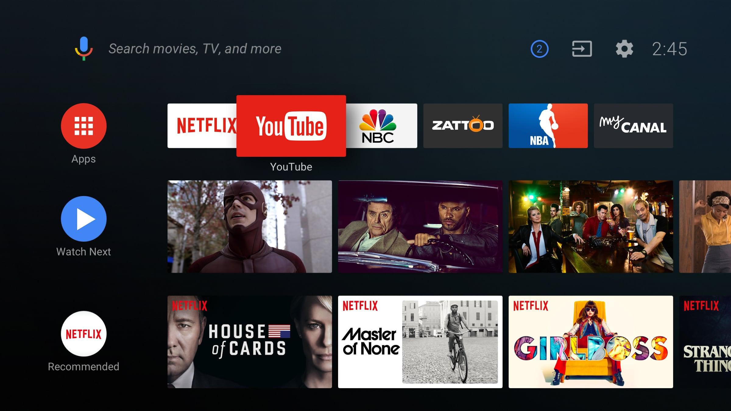 Danh sách TV Sony sẽ nhận được bản cập nhật làm mới giao diện màn hình chủ
