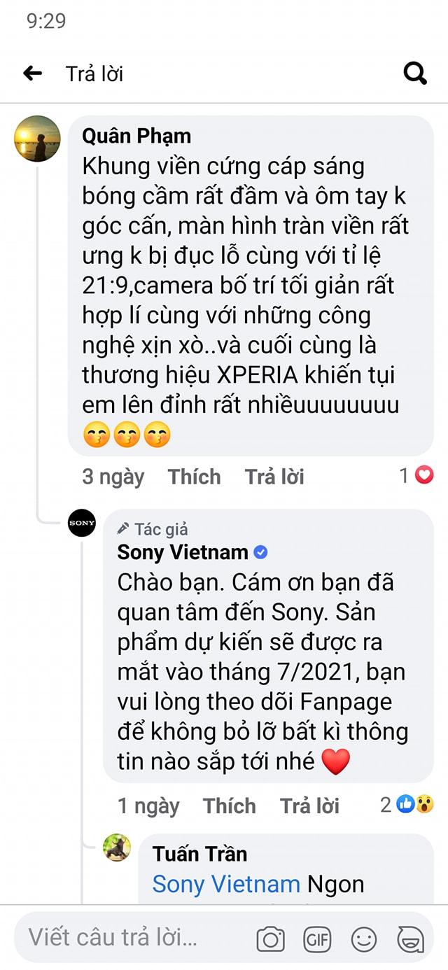 Xperia 1 III có giá từ 30 triệu đồng tại Trung Quốc, dự kiến lên kệ tại Việt Nam vào tháng 7