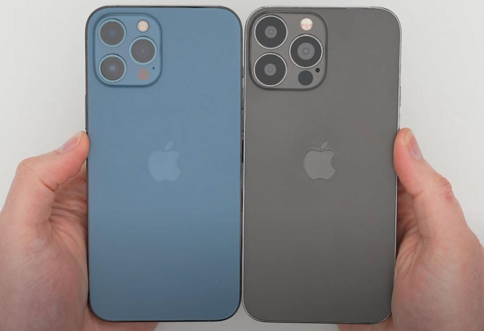 HOT: iPhone 13 lộ diện hoàn toàn thiết kế