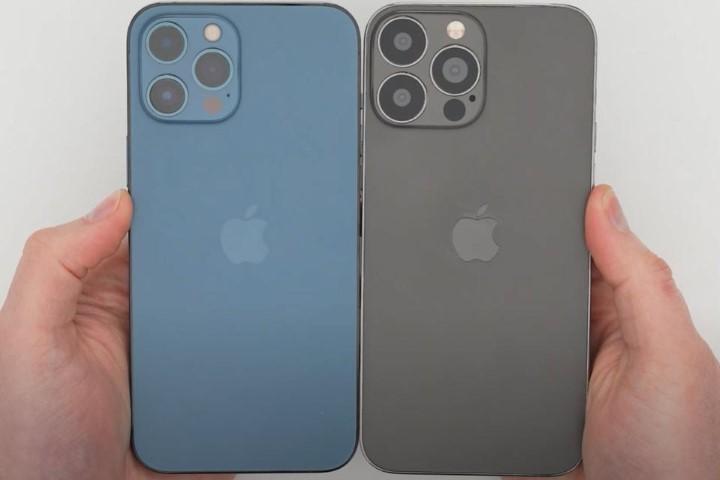 HOT: iPhone 13 lộ diện hoàn toàn thiết kế tương tự iPhone 12