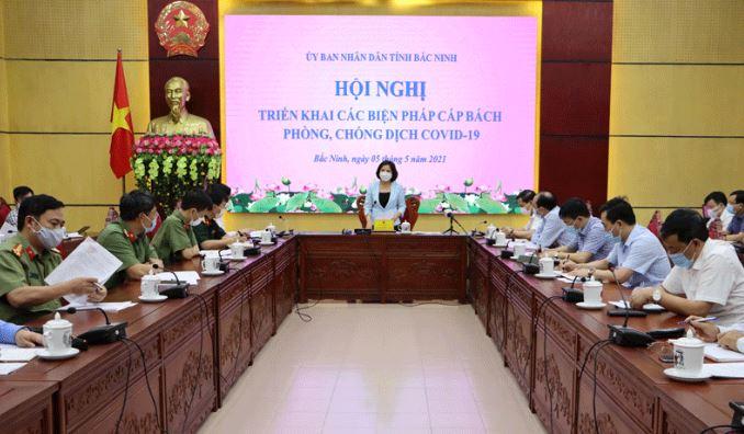 Bắc Ninh có 11 ca dương tính, đề nghị người dân không ra khỏi nhà