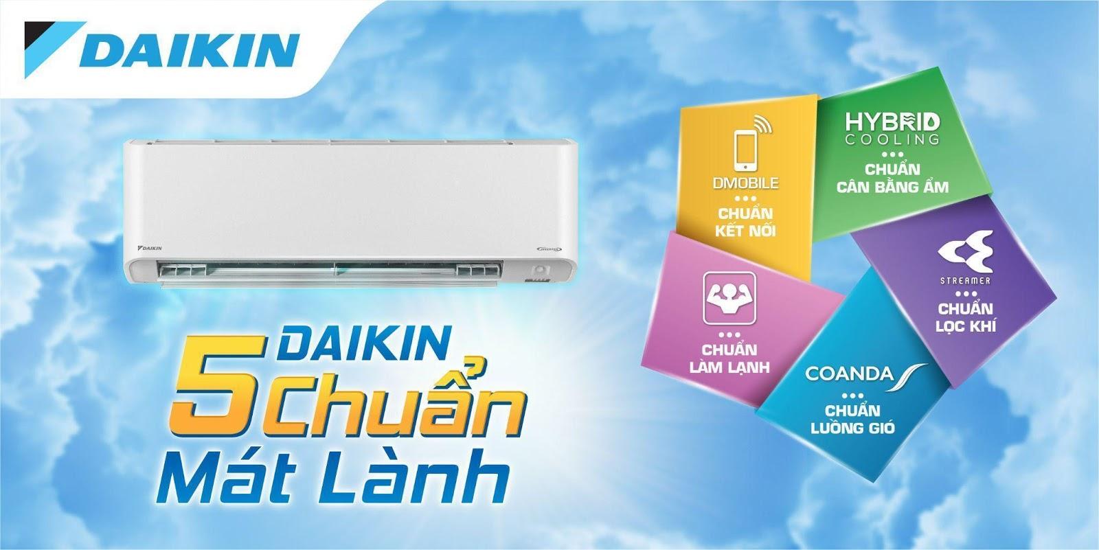 Loạt công nghệ mới trên điều hòa flagship 16 triệu đồng của Daikin