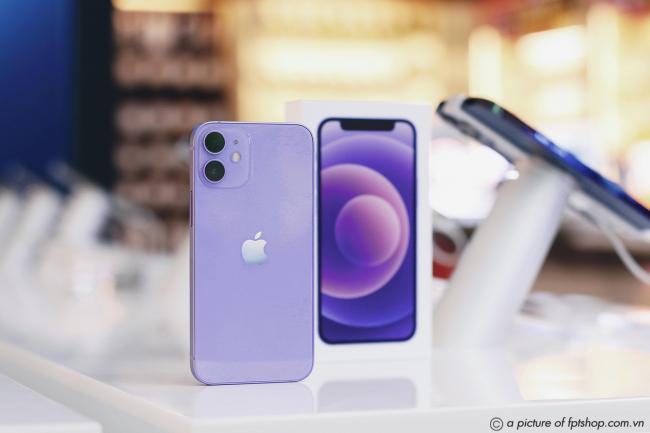 FPT Shop lên kệ iPhone 12 và iPhone 12 mini mới màu tím
