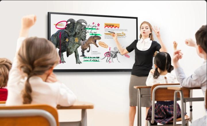 Samsung ra mắt bảng tương tác Flip 3 cỡ 75 inch cho ngành giáo dục