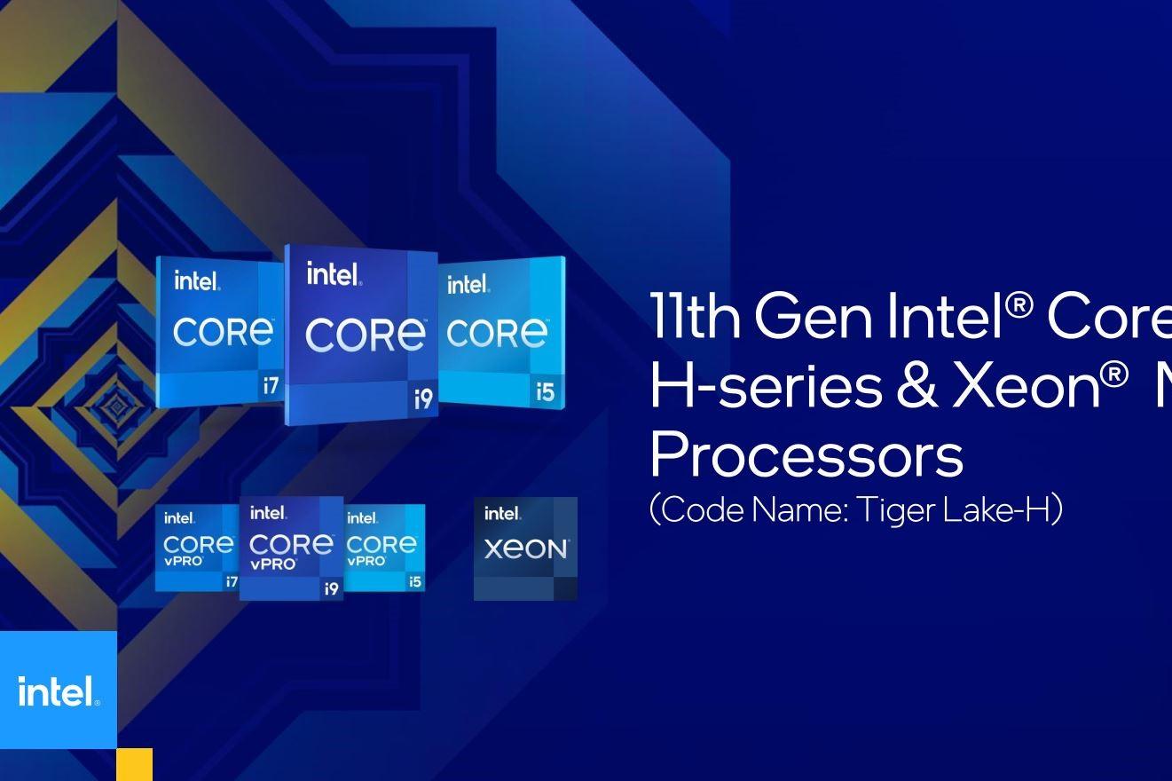 Intel Core dòng H Gen 11 ra mắt: dẫn đầu bởi Core i9-11980HK, tuyên bố nhanh hơn AMD 20%