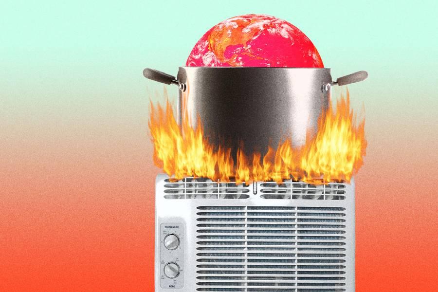 """Điều hòa không khí đang """"nấu chín"""" hành tinh"""