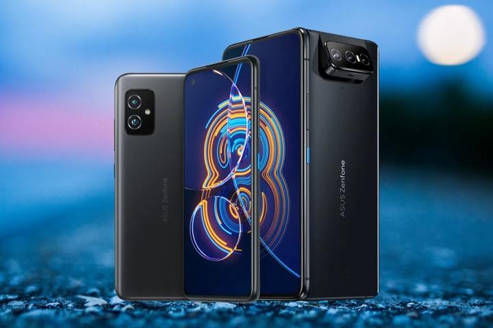 Asus ra mắt Zenfone 8 với Snapdragon 888, Zenfone 8 Flip có camera lật độc đáo