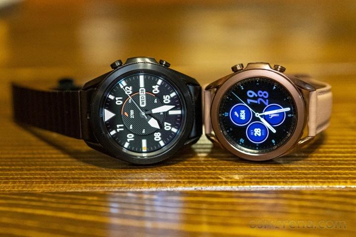 Galaxy Watch 4 và Active 4 chạy Wear OS, không có cảm biến đo đường huyết?