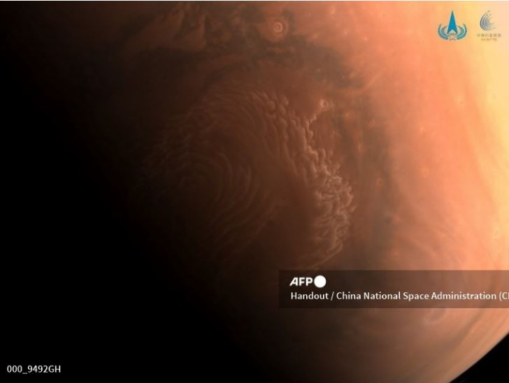 """Trung Quốc trở thành quốc gia thứ hai đổ bộ Sao Hỏa, bắt đầu sứ mệnh """"Hỏi ông Trời"""""""