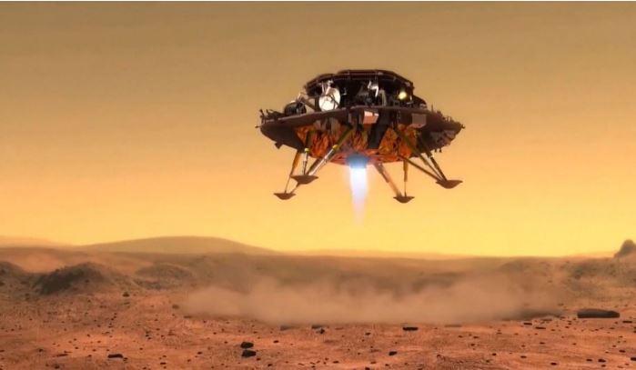 """Trung Quốc trở thành quốc gia thứ hai đổ bộ Sao Hỏa, mang """"thần lửa"""" lên """"Hỏi ông Trời"""""""