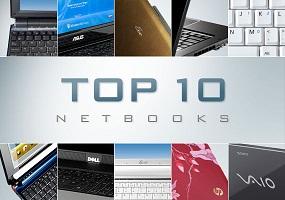 Top 10 notebook tính đến tháng 7/2012