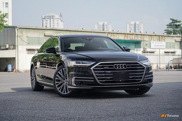 Cận cảnh Audi A8L 2021, giá 7 tỷ đồng