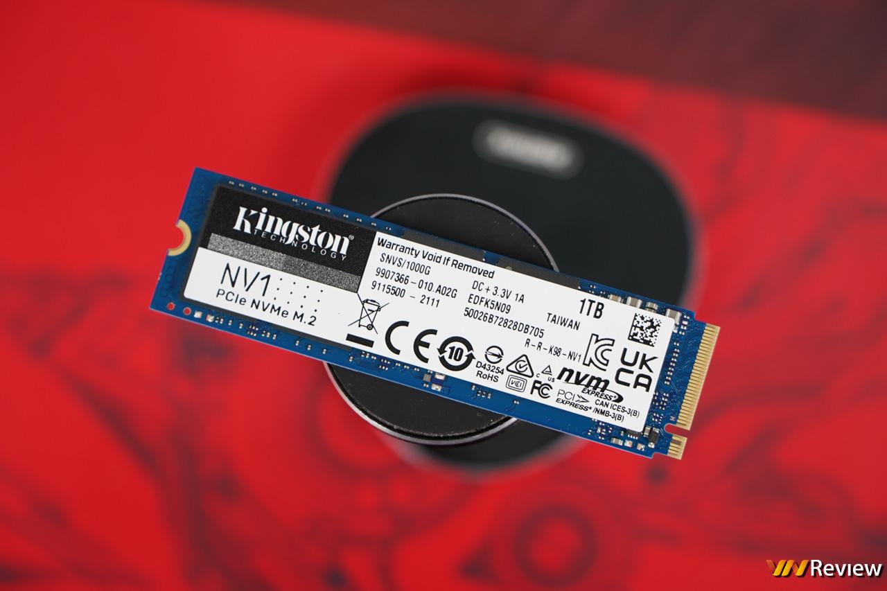 Đánh giá SSD Kingston NV1 1TB: Ổ PCIe giá tốt bất ngờ, tốc độ ổn áp