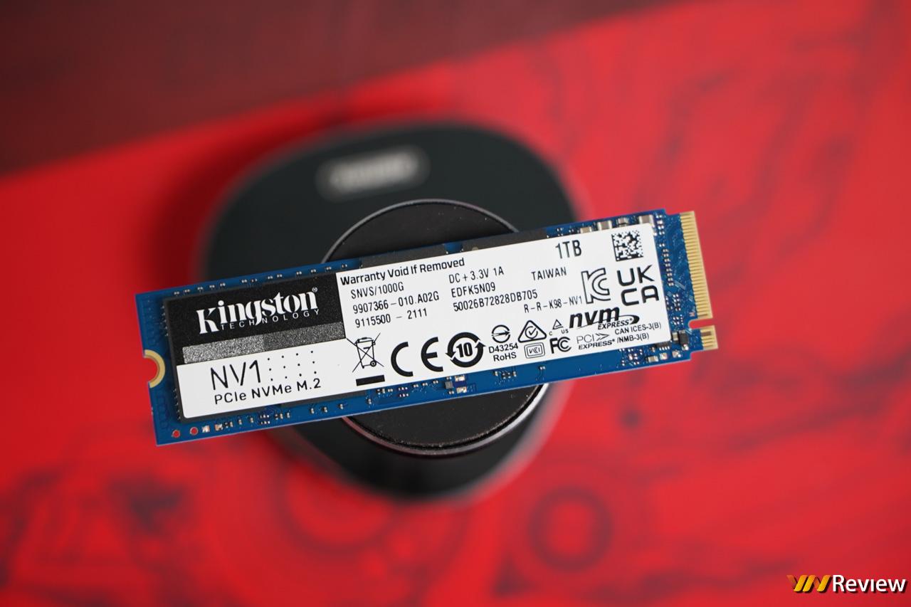 Đánh giá SSD Kingston NV1 1TB: Giá tốt bất ngờ, tốc độ ổn áp
