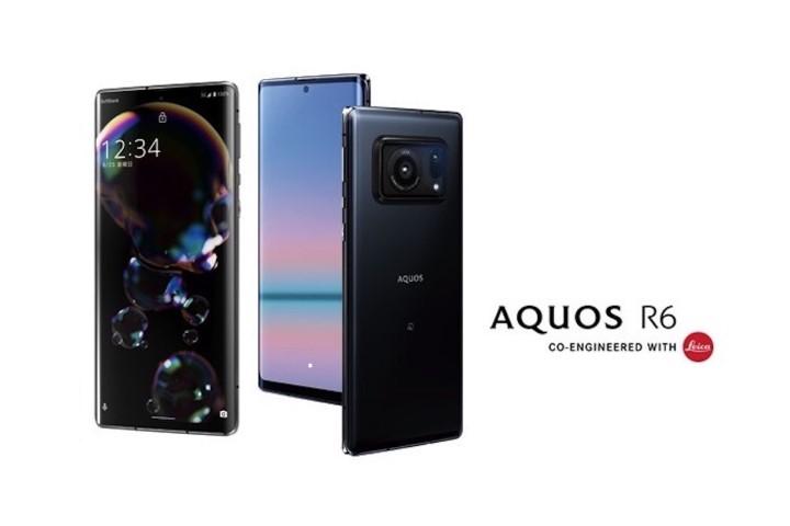 Sharp AQUOS R6: Cảm biến 1 inch, camera Leica, màn hình OLED 240Hz đỉnh sáng 2.000 nit