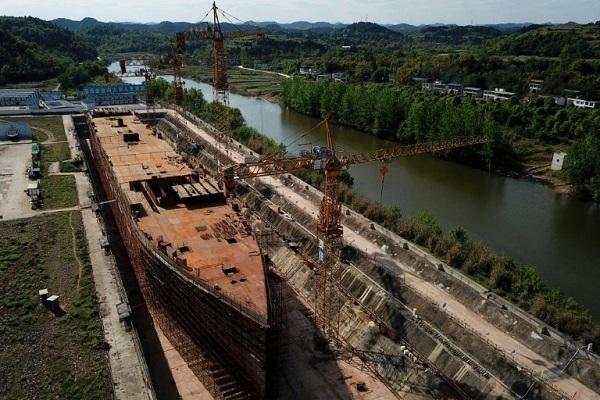 Trung Quốc hoàn thành bản sao tàu Titanic, trị giá hơn 150 triệu USD