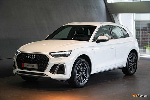 Cận cảnh Audi Q5 vừa ra mắt tại Việt Nam