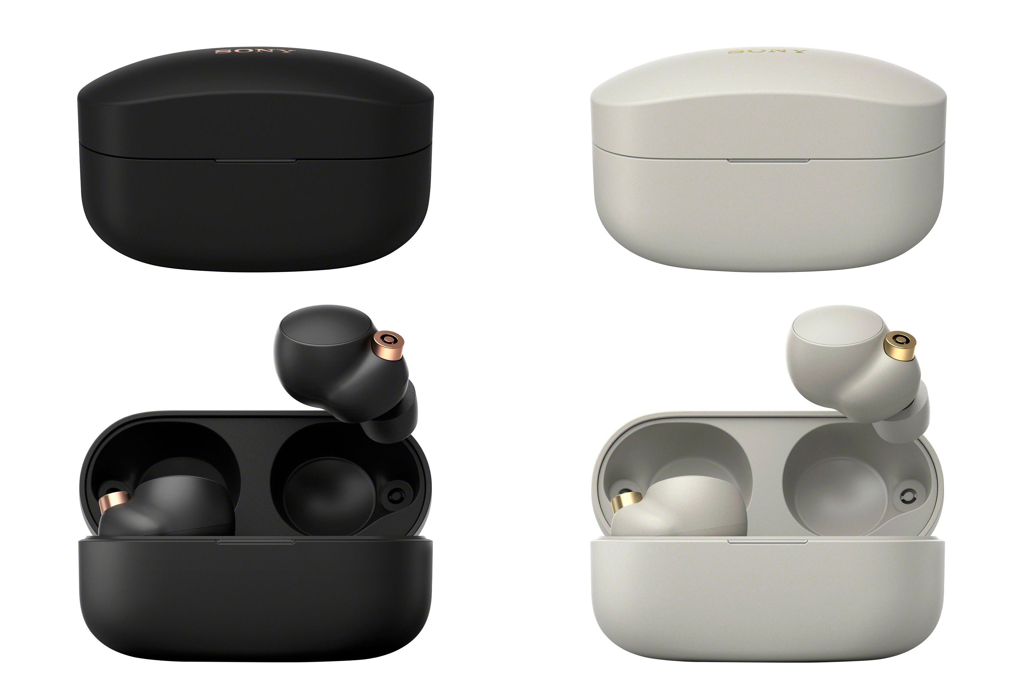 Hình ảnh rõ nét tai nghe true wireless WF-1000XM4 của Sony - VnReview - Tin  nóng