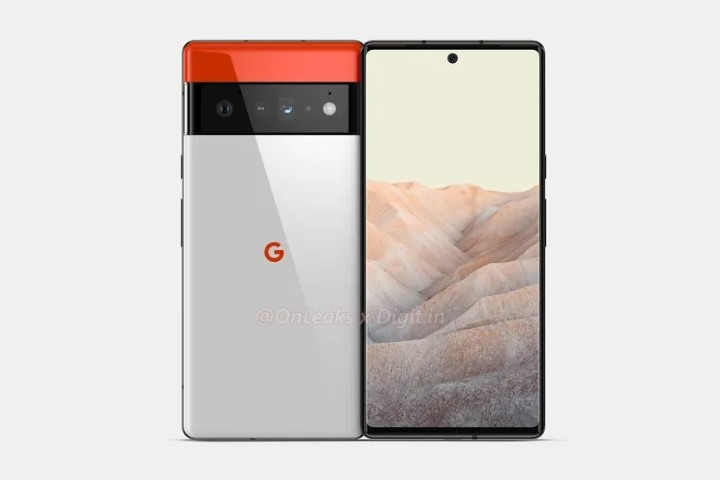 Lộ diện hình ảnh rõ nét bộ đôi Google Pixel 6 và Pixel 6 Pro
