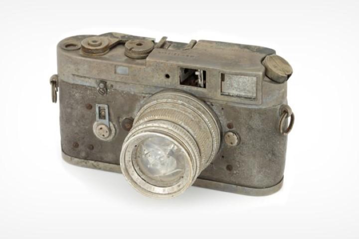 Bán đấu giá máy ảnh Leica M4 bị cháy, có người sẵn sàng trả 2.000 USD
