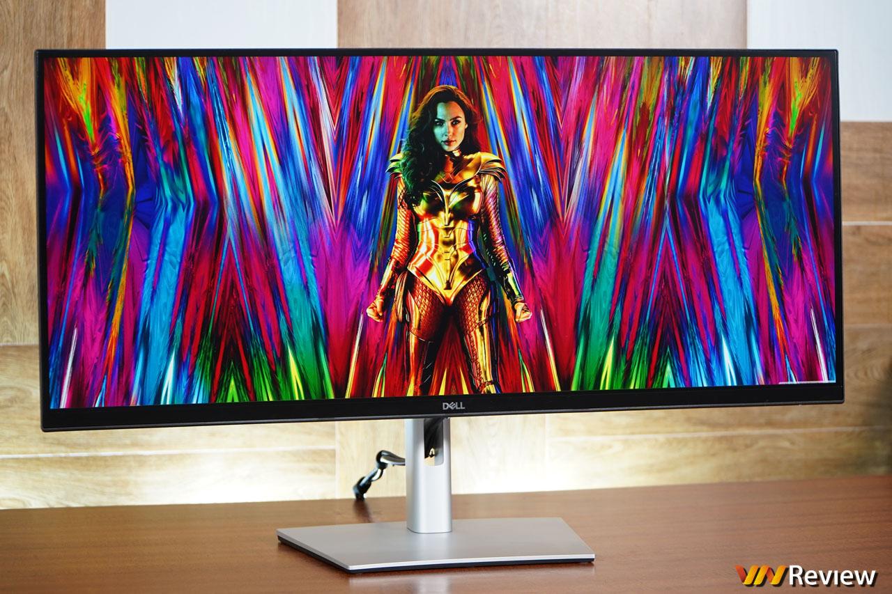 """Đánh giá Dell P3421W: màn hình cong 21:9 """"chuẩn chỉ"""" cho dân sáng tạo nội dung"""