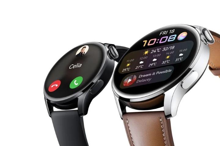 Huawei trình làng bộ đôi smartwatch đầu tiên chạy HarmonyOS: Watch 3 và Watch 3 Pro