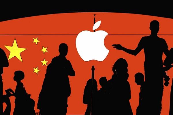 """Trung Quốc """"nhuộm đỏ"""" chuỗi cung ứng Apple"""
