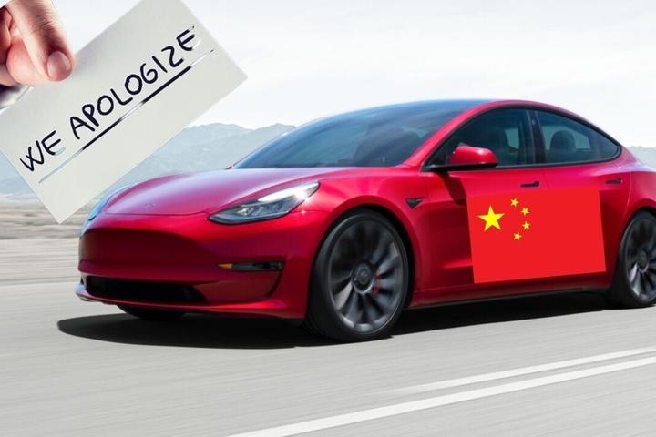 Người dùng Tesla ở Trung Quốc xin lỗi công ty vì dàn dựng clip xe hỏng phanh