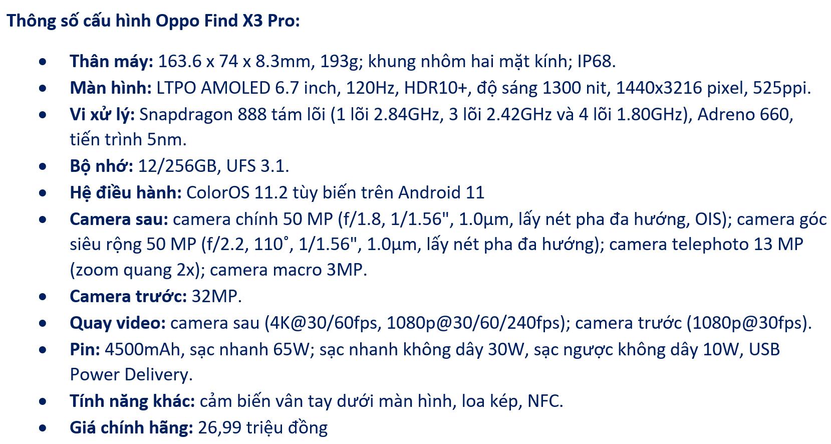 Đánh giá Oppo Find X3 Pro: flagship gần như toàn diện - VnReview 2020 1