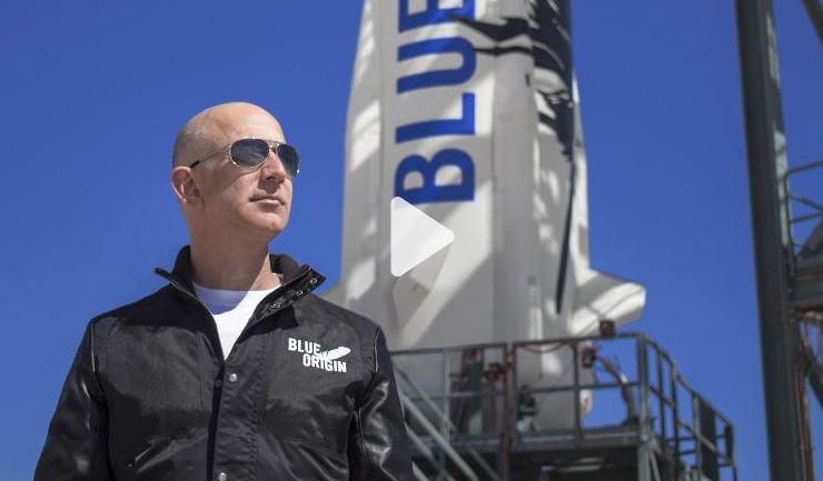 Tỉ phú Jeff Bezos đích thân bay vào không gian trên rocket do ông chế tạo