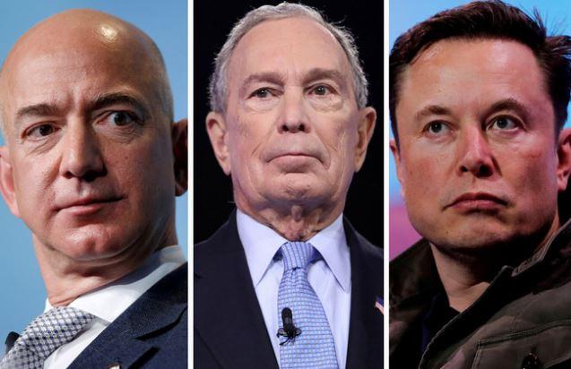 Tỷ phú Jeff Bezos, Bill Gates, Elon Musk tài sản tăng cả chục tỷ đô nhưng nộp thuế rất ít