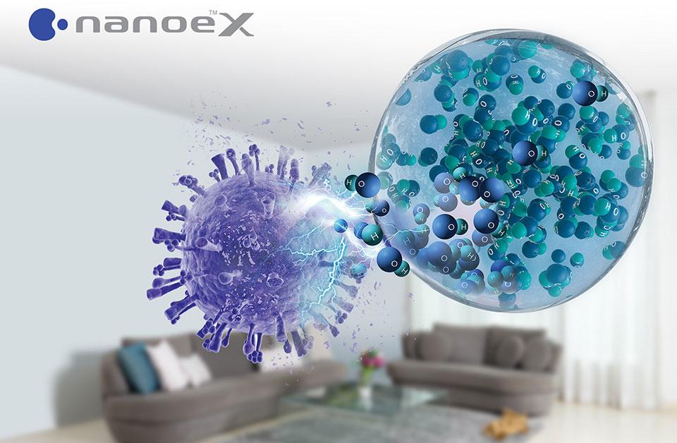 Hiểu đúng công nghệ nanoe X giúp chọn chính xác điều hòa chủ động ức chế vi rút, vi khuẩn