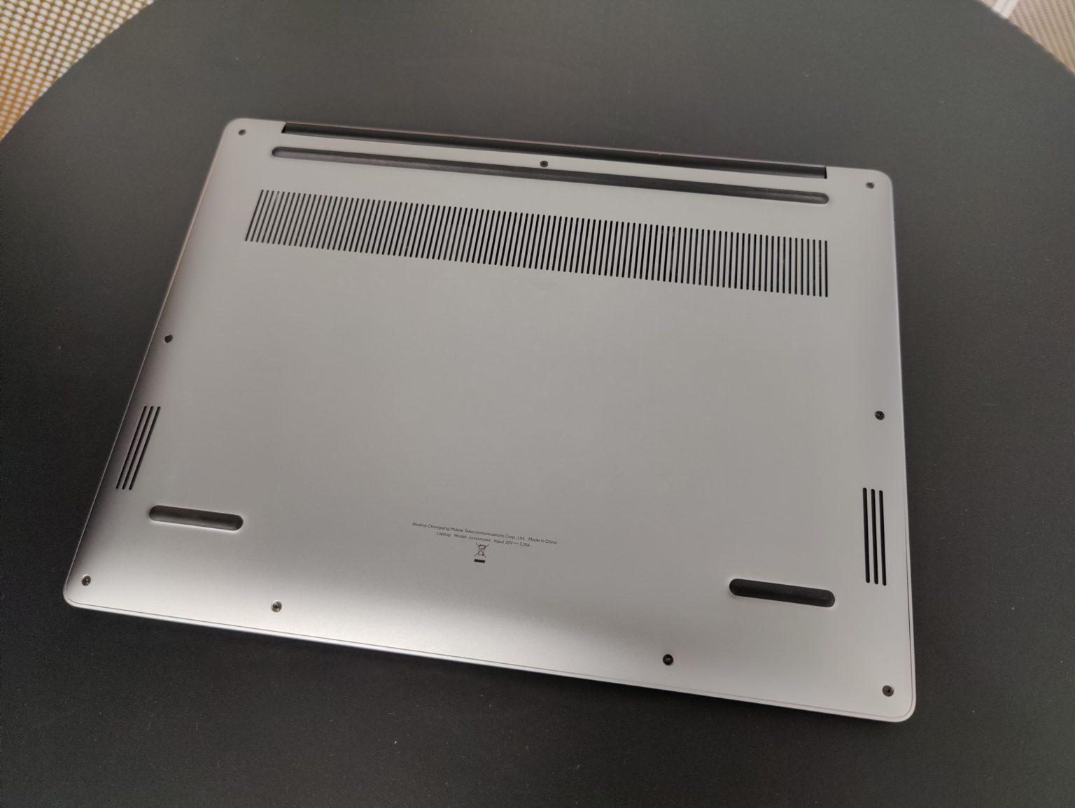 Hình ảnh rò rỉ về chiếc máy tính xách tay đầu tiên của BBK Electronics, được gọi là Realme Book
