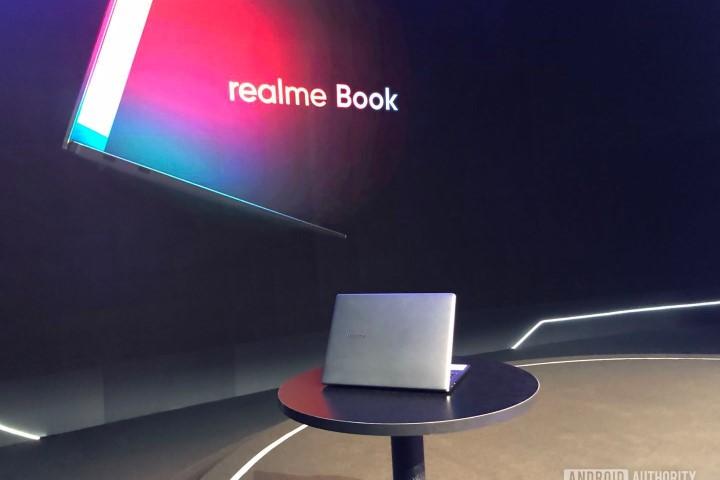 Rò rỉ hình ảnh cận cảnh laptop đầu tiên của Realme