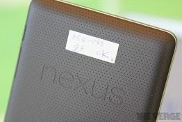 Nexus 7 không có camera để đảm bảo giá thành và chất lượng