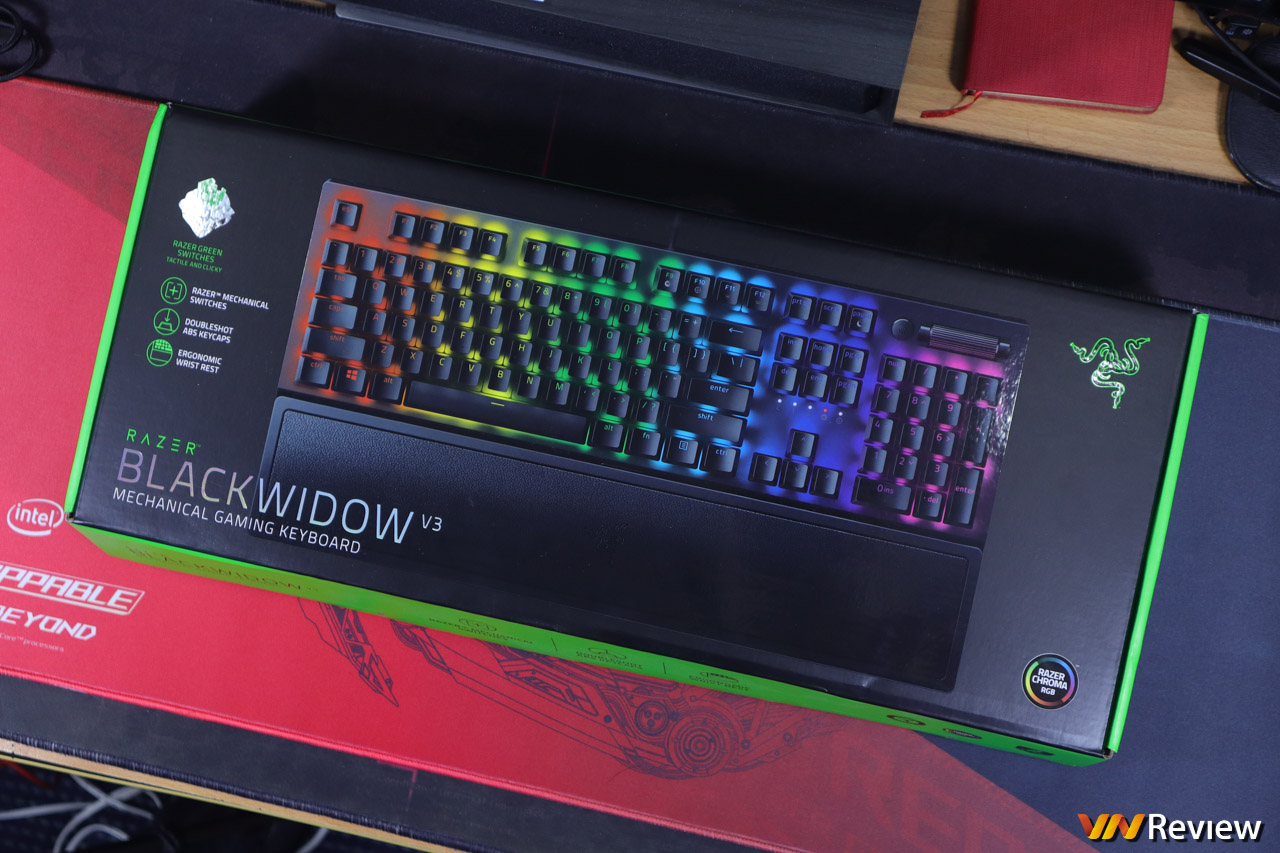 Đánh giá Razer BlackWidow V3: