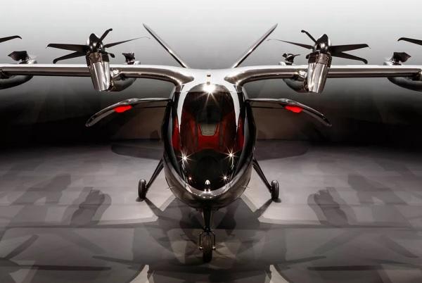 Đây là taxi tương lai dành cho VIP: máy bay điện cất cánh thẳng đứng