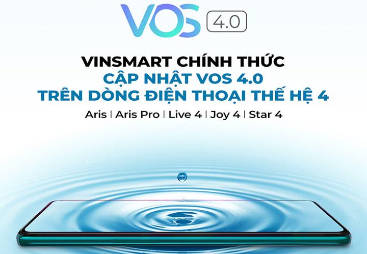 """VinSmart tung bản cập nhật lớn VOS 4.0 cho các smartphone """"thế hệ thứ tư"""""""