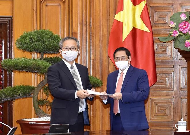 Nhật Bản gửi 1 triệu liều vaccine Covid-19 cho Việt Nam