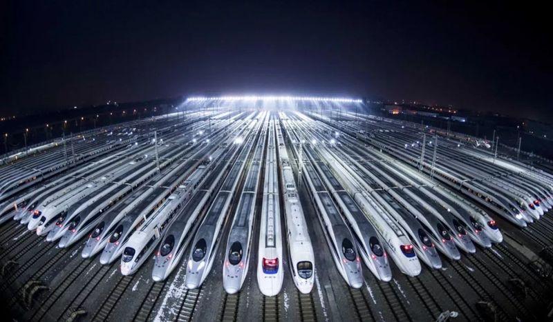 """Một thập kỷ """"tiến hoá"""" đáng kinh ngạc của đường sắt cao tốc Trung Quốc"""