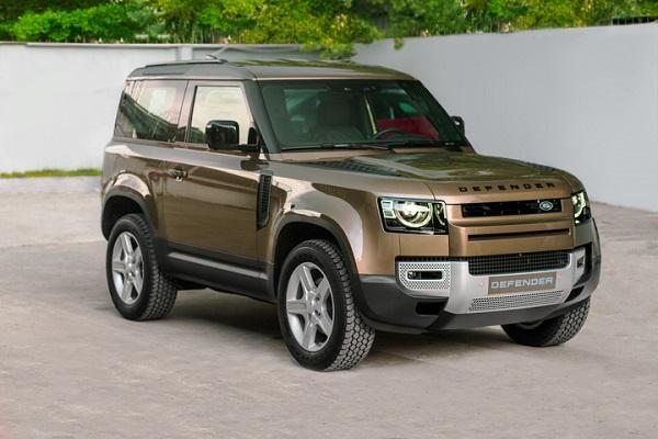 Land Rover Defender 90 ra mắt tại Việt Nam, giá từ 3,395 tỷ đồng
